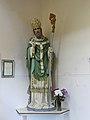 Statue of St Patrick, foyer of St Patrick's, Toxteth.jpg