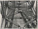 Steam trains on Harbour Bridge, 1932 (8282712605).jpg