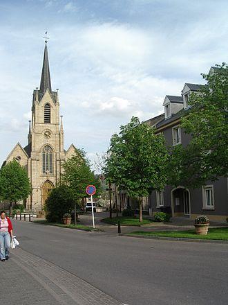 Steinsel - The church of Steinsel