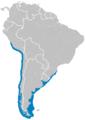 Stercorarius chilensis distribution map.png