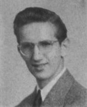 Steve Ditko - Ditko as a senior in high school, 1945