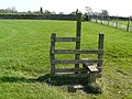 Stile with no fence - geograph.org.uk - 2369813.jpg