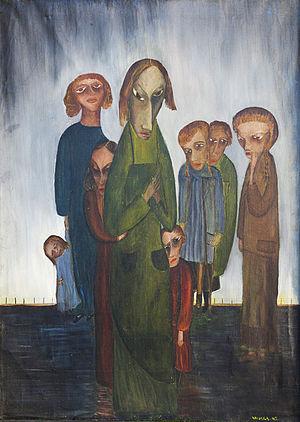Lette Valeska - Still Waiting by Lette Valeska, 1945.