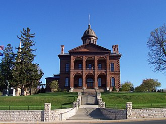 Washington County, Minnesota - Image: Stillwater Courthouse