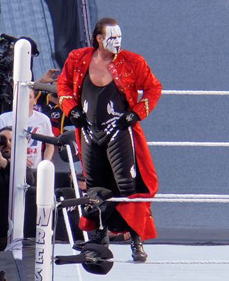 WrestleMania 31 - Sting's debut match in WWE resulted in a loss to Triple H