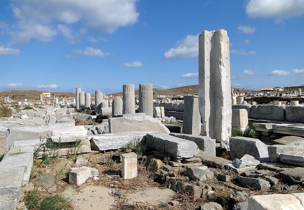 Stoa of Philip, Delos