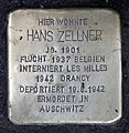 Stolperstein Bundesplatz 17 (Wilmd) Hans Zellner.jpg