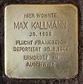 Stolperstein Dahlmannstr 1 (Charl) Max Kallmann.jpg
