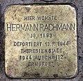 Stolperstein Helmstedter Str 27 (Wilmd) Hermann Rachmann.jpg