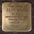 Stolperstein Martin-Luther-Str 84 (Schön) Julius Hirsch.jpg
