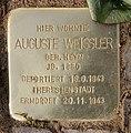 Stolperstein Meiningenallee 7 (Westend) Auguste Weissler.jpg