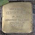 Stolperstein Westfälische Str 59 (Halsee) Gertrud Pohl.jpg