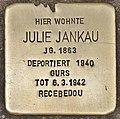 Stolperstein für Julie Jankau (Heidelberg).jpg