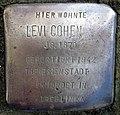 Stolpersteine Dortmund Wickeder Hellweg 91 Levi Cohen.jpg