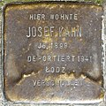 Stolpersteine Köln, Josef Kahn (Schaevenstraße 4).jpg