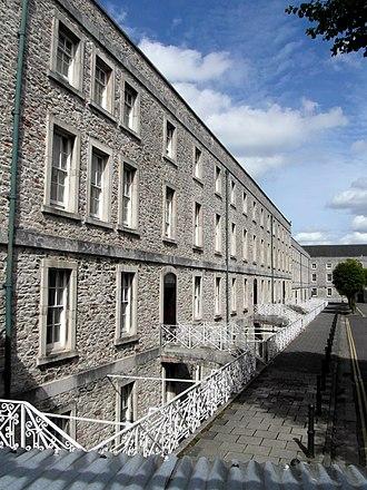 Stonehouse Barracks - Image: Stonehouse Barracks north block