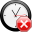 Stop x nuvola with clock.svg