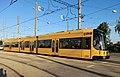 Straßenbahnwagen 2608 (Partnerstadt Skopje) Dresden.jpg