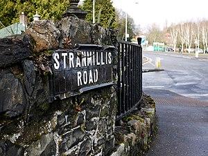 Stranmillis - Image: Street Sign, Belfast geograph.org.uk 1773607