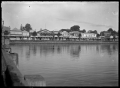 Street on the waterfront at Tauranga, 1924. ATLIB 296375.png