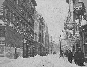 Winter Street (Boston) - Winter Street, Boston, c. 1860s (photo by John B. Heywood)