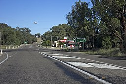Sturt Highway i Alfredtown.