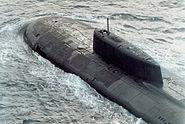 Submarine Oscar class