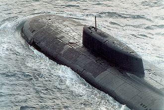 Oscar-class submarine - Image: Submarine Oscar class