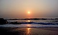 Sunrise over Bay of Bengal at RK Beach 01.jpg