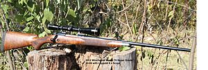 .30-06 Springfield - A Winchester Model 70 Super Grade hunting rifle in .30-06 with Leupold 6×42 scope