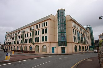 Channel Islands Co-operative Society - The Grand Marché, a CICS supermarket in Saint Helier, Jersey.