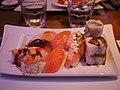 Sushi at restaurant Caverna.jpg