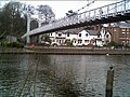Suspension Bridge at the Groves in Chester - geograph.org.uk - 11170.jpg