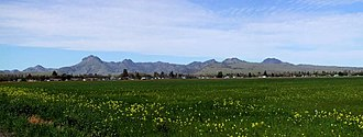 Sutter County, California - Image: Sutter Buttes