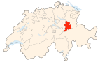 Switzerland Locator Map GL.svg