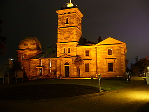 Sydney Observatory - Sydney Observatory at night