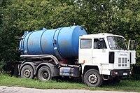 Szambowoz - a mobile septic tank