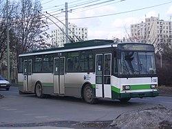 Szeged 5-ös trolibusz Vértói út 2012-02-27 (2).JPG