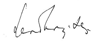 Albert Szent-Györgyi - Image: Szent Györgyi kezirasa