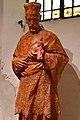 Szombathely, szaléziánus templom Nepomuki Szent János-szobra 2021 09.jpg