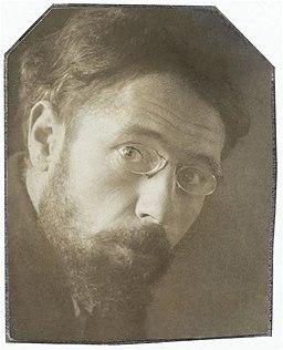 Tête de Bonnard (Portrait photograph of Pierre Bonnard), c.1899, Musée d'Orsay, restaurée