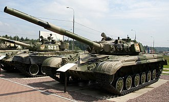 T-64 - T-64AK at the T-34 Tank History Museum in Russia