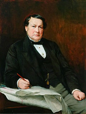 Thomas Elliot Harrison - T.E. Harrison painted by Walter William Ouless c.1884