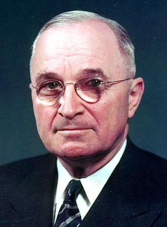 United States presidential election, 1944 - Image: TRUMAN 58 766 06 CROPPED
