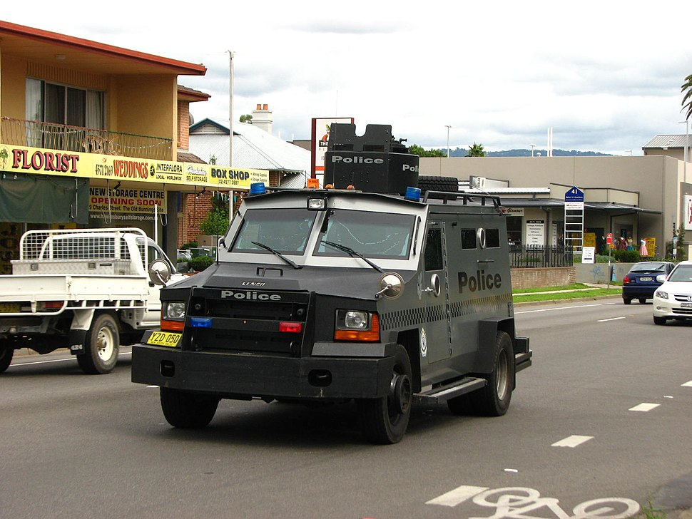 Tactical Operations Unit assault vehicle - Flickr - Highway Patrol Images