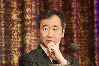Takaaki Kajita - Takaaki Kajita at a press conference at the Royal Swedish Academy of Sciences