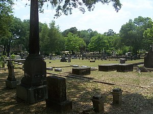 Timeline of Tallahassee, Florida - Image: Tallahassee FL Old City Cemetery 03