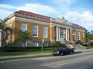 Tampa Free Library United States historic place