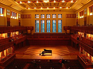 Tanglewood - Ozawa Hall before a concert