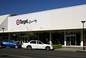 Target Australia - A Target Country store in Wagga Wagga, New South Wales.